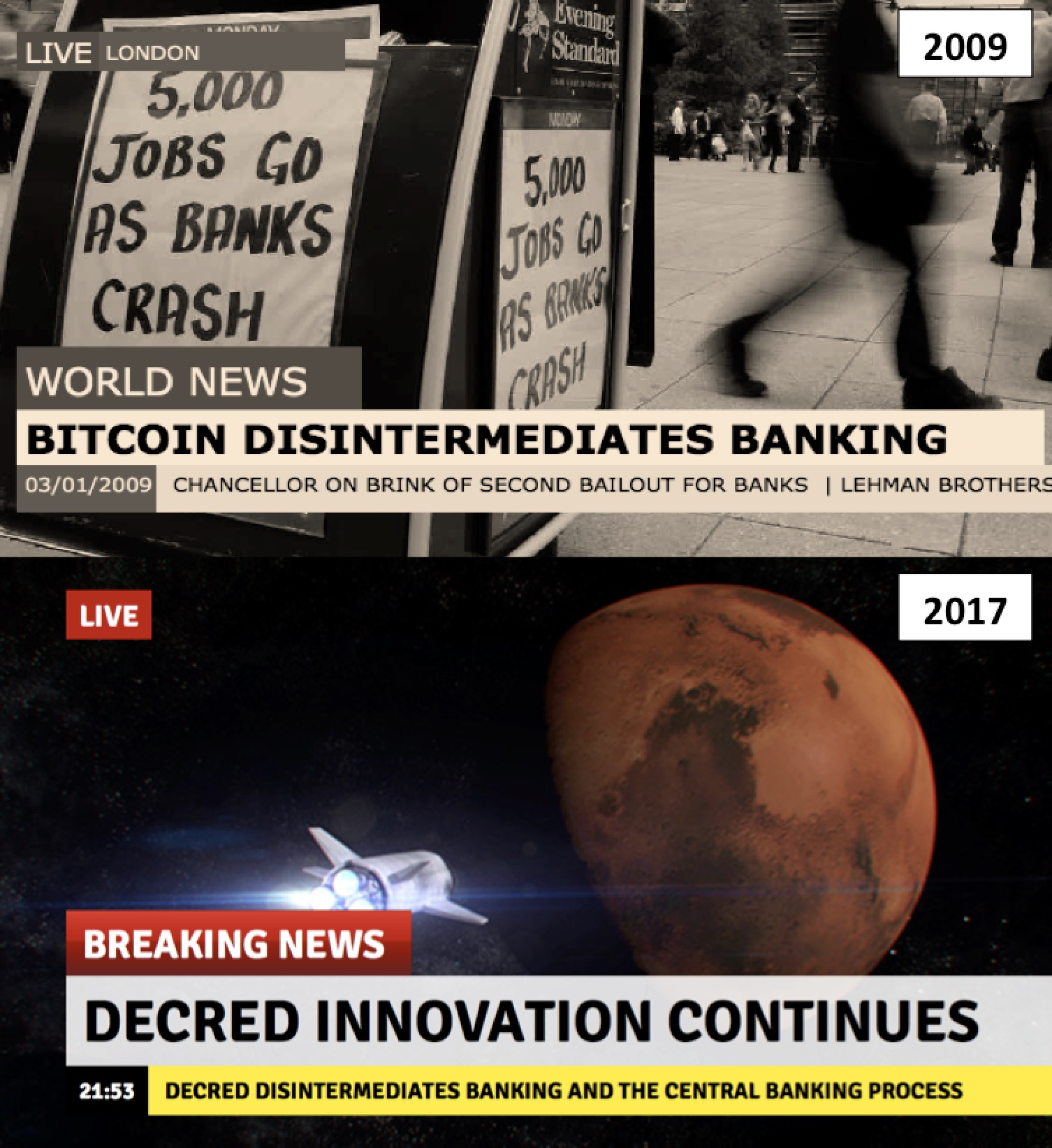 Decred Disintermediates Banking And The Central Banking